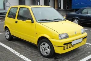 Masa własna Fiata Cinquecento