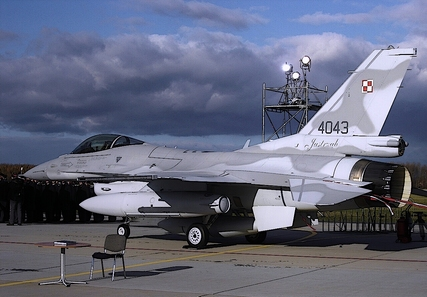 waga samolotu F-16