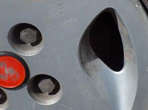 Cieżar masa felgi aluminiowej
